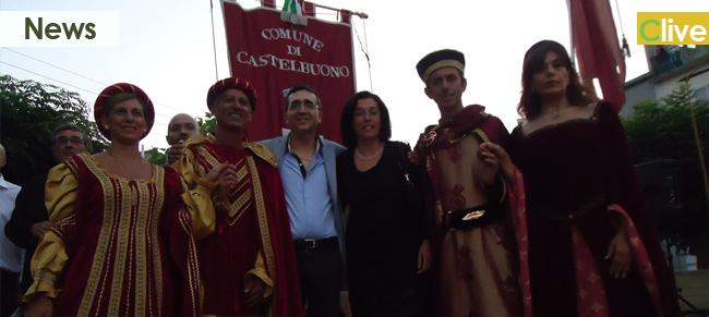 Una delegazione del Comune di Castelbuono alla rievocazione medievale di Montalbano Elicona