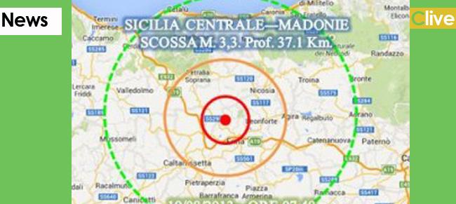 Trema ancora la Sicilia , stavolta tocca alle Madonie