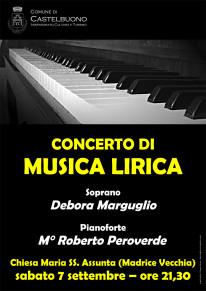 Concerto di musica lirica del soprano Debora Marguglio