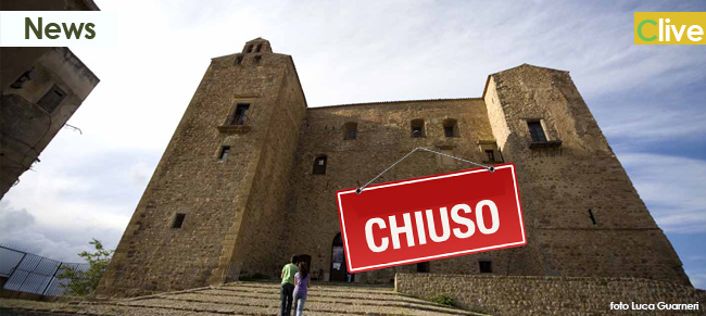 Avviso di chiusura del Castello dei Ventimiglia per sciopero