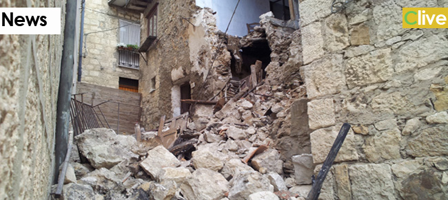 Crolla una casa a Petralia Sottana: famiglie evacuate
