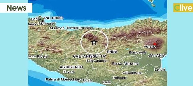 Lieve scossa di terremoto sulle Madonie