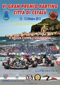 Il 12 e 13 ottobre il Gran Premio Città di Cefalù di Kart: il percorso della gara