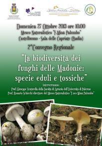 Convegno sulla biodiversità dei Funghi delle Madonie