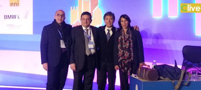 Una delegazione dell'Amministrazione Comunale di Castelbuono a Firenze per la XXX Assemblea ANCI