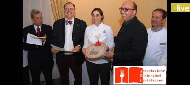 """Antonella di Garbo dell'agriturismo Bergi vincitrice della prima rassegna gastronomica: """"Gustando il territorio, un piatto da ricordare"""""""