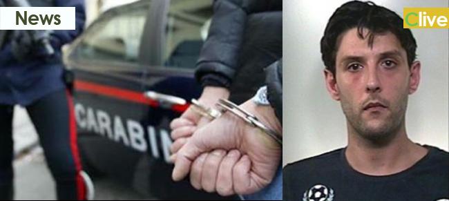 Ladro solitario arrestato dai carabinieri sorpreso a rubare negli spogliatoi dell'ospedale di Cefalù