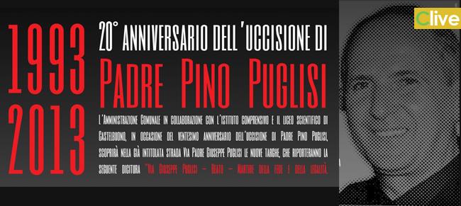 Il 21 ottobre a Castelbuono, nel ventesimo anniversario dell'uccisione, il ricordo di Padre Pino Puglisi
