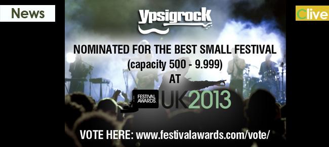 Ypsigrock nominato agli UK Festival Awards 2013