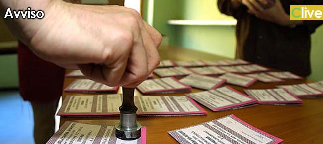 Aperte le iscrizioni all'albo delle persone idonee all'ufficio di scrutatore di seggio elettorale