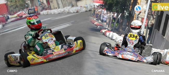 KARTING: Doppietta di Capuana e Campo nel campionato Trofeo Regionale circuiti cittadini 2013 nella 100cc Und35