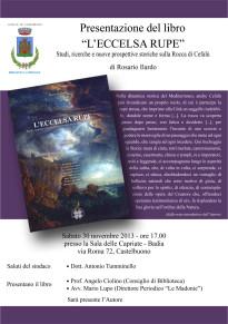 locandina presentazione libro