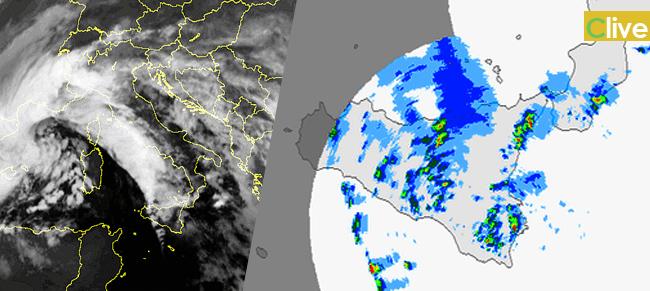 Allerta Meteo Sicilia: violenta sfuriata invernale nelle prossime ore, venti impetuosi e forte maltempo
