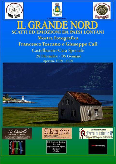Il 28 dicembre l'inaugurazione della mostra fotografica di Francesco Toscano e Giuseppe Calì