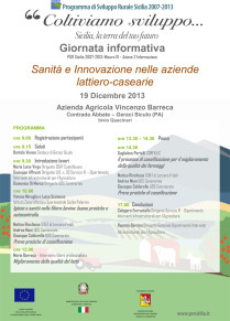 """SOAT di Castelbuono: giornata informativa sul tema """"Sanità e Innovazione nelle aziende lattiero-casearie"""""""