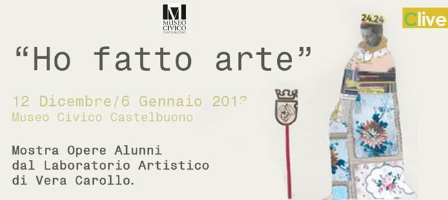 """Museo Civico: Proroga della mostra """"Ho fatto arte"""""""