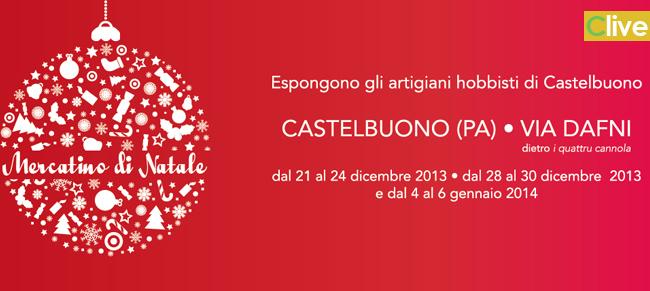 AL via il mercatino natalizio degli artigiani-hobbisti di Castelbuono, l'esposizione avrà luogo in via Dafni