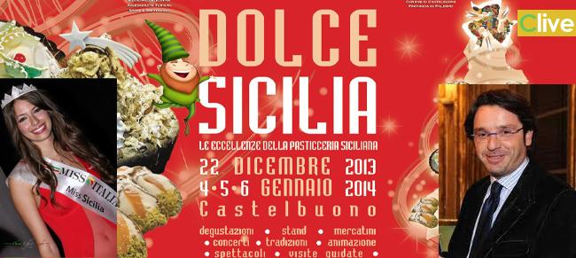 """Al via """"Dolce Sicilia – Natale 2013"""". A Castelbuono le eccellenze della Pasticceria Siciliana. Il programma"""