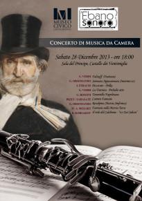"""Al Museo Civico il Concerto """"Viva Verdi"""""""