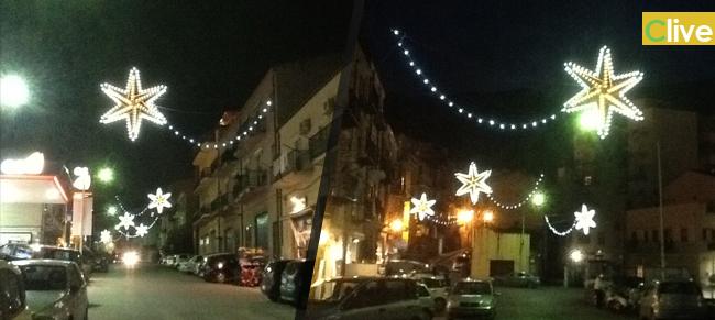 """Natale 2013: il contributo dei commercianti """"illumina"""" via Cefalù e via Geraci"""