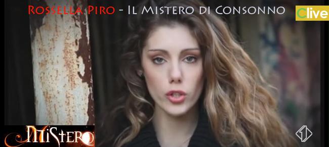 """Rossella Piro, tra i 10 finalisti del Contest, come inviata del programma TV """"MISTERO"""""""