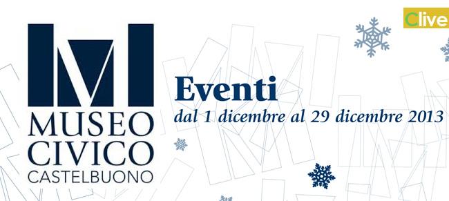 Museo Civico: gli eventi in programma per dicembre