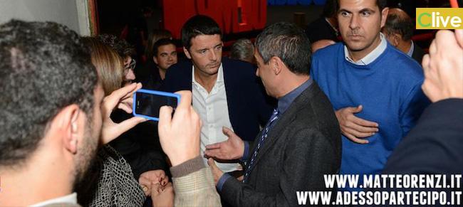 Peppe Norata con Matteo Renzi per il futuro del PD e del nostro Paese