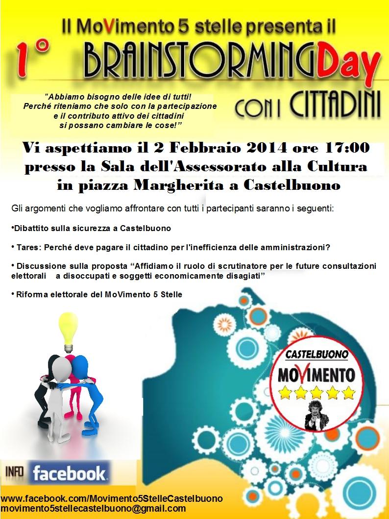 1° Brainstorming M5S Castelbuono