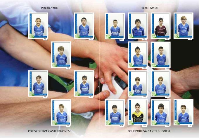 La Polisportiva Castelbuonese presenta l'album per la stagione 2013/2014
