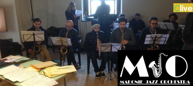 """Alla Sala del Principe del Castello dei Ventimiglia presentazione della """"Madonie Jazz Orchestra"""""""