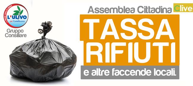 L'Ulivo per Castelbuono richiede l'autorizzazione all'uso della Sala delle Capriate per affrontare le problematiche emerse sul tema della tassa dei rifiuti