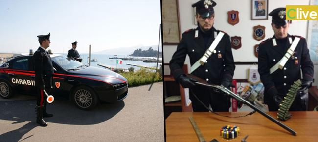 Carabinieri di Cefalù - Un arresto - Quattro denunciati e Contravvenzioni