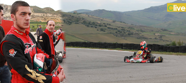 Ottimo risultato del castelbuonese Francesco Alaimo nella 2° prova del campionato regionale kart
