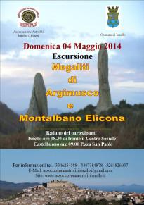 Associazione Astrofili di Isnello organizza un'escursione ai megaliti di Argimusco e Montalbano Elicona