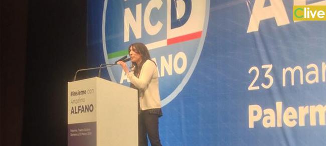 Il presidente del Consiglio comunale Gianclelia Cucco a Roma per l'Assemblea costituente del NCD
