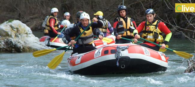 Un giovane madonita tra le sette nuove guide di rafting in Italia. In programma escursioni alle Gole di Tiberio