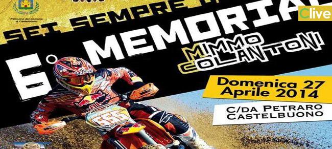 """Domenica 27 aprile il 6° Memorial """"Mimmo Colantoni"""""""