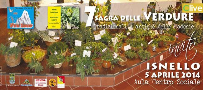 Sabato 5 aprile a Isnello la 7° Sagra delle Verdure Tradizionali e Antiche delle Madonie