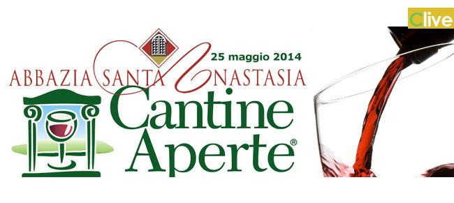 """All'Abbazia Santa Anastasia torna """"Cantine Aperte"""", l'evento enoturistico più importante in Italia"""