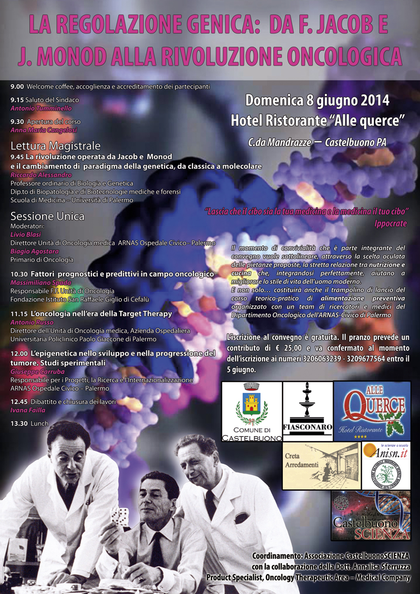 locandina regolazione genica