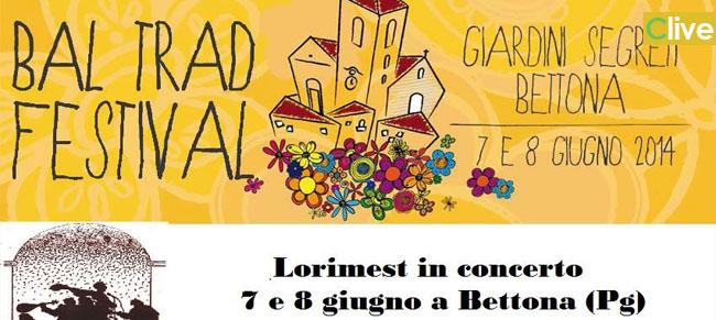 """I Lorimest in concerto al """"Bal Trad Festival"""" di Bettona (PG)"""