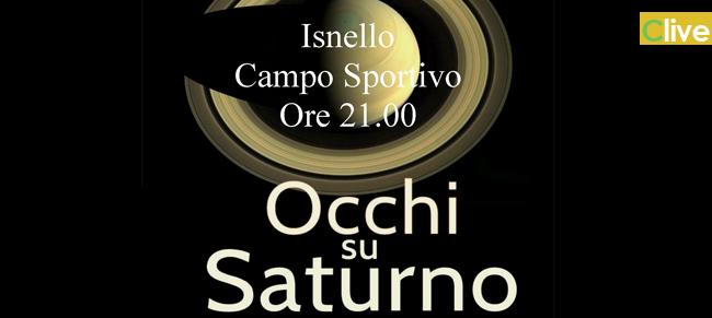 """Isnello: seconda edizione della manifestazione """"Occhi su Saturno"""""""