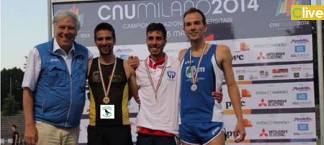 Campionati Italiani Universitari: il madonita Giorgio Scialabba medaglia di bronzo nei 5000 metri