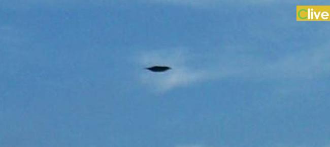 Oggetto volante non identificato nei cieli di Castelbuono