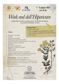 La Manna di Zabbra dedica un week end all'Hipericum