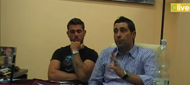 Disponibile il video della presentazione del nuovo acquisto granata Antonio Mercanti