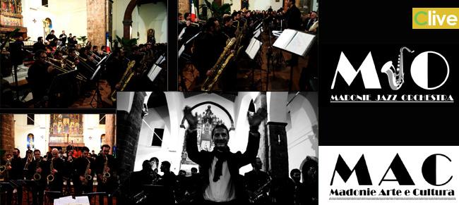 Domenica 17 agosto concerto della Madonie Jazz Orchestra in Piazza Castello