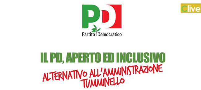 Il PD, aperto ed inclusivo, alternativo all'amministrazione Tumminello: assemblea degli iscritti e simpatizzanti