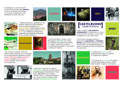 Castelbuono Cuore di Sicilia: un nuovo pieghevole illustrativo per i turisti