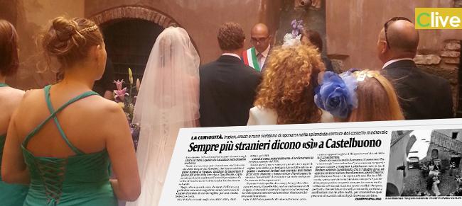 Sempre più stranieri dicono «sì» a Castelbuono